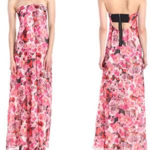 pink Sam Edelman Enchanted Kiss floral maxi dress